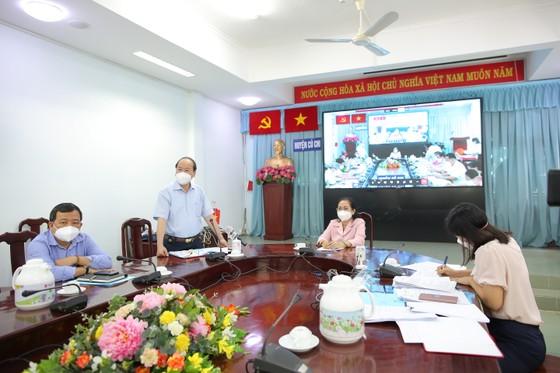 Thủ tướng Phạm Minh Chính chúc mừng huyện Củ Chi đã kiểm soát được dịch Covid-19 ảnh 5