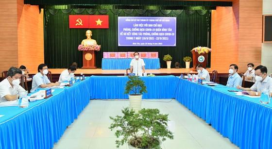 Bí thư Thành ủy TPHCM Nguyễn Văn Nên: 'Yếu tố cần nhất để mở cửa trở lại chính là vaccine' ảnh 1
