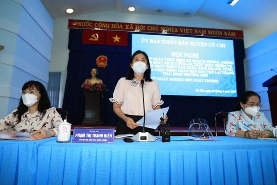 Chủ tịch HĐND TPHCM Nguyễn Thị Lệ: 'Kết quả tại huyện Củ Chi là thành quả chung của người dân' ảnh 6