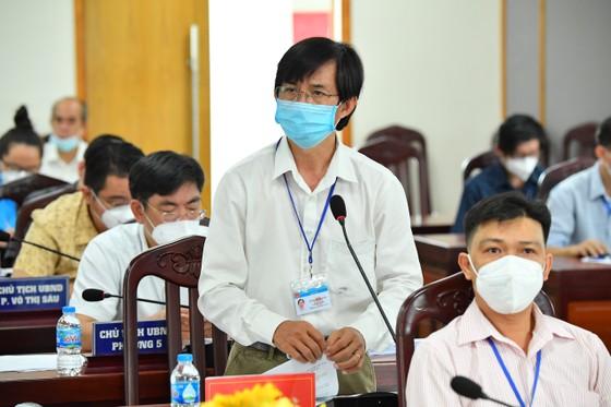 Chủ tịch HĐND TPHCM Nguyễn Thị Lệ: quận 3 cơ bản kiểm soát được dịch Covid-19   ảnh 3