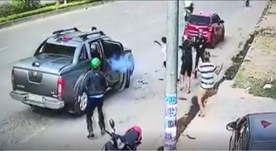 Vụ nổ súng ở Nhơn Trạch: Đối tượng cầm đầu ra đầu thú ảnh 1