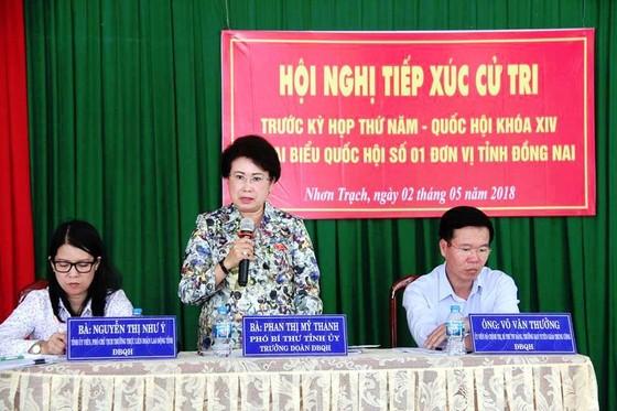 Ban Bí thư Trung ương Đảng sẽ tiếp tục xem xét kỷ luật bà Phan Thị Mỹ Thanh về mặt chính quyền ảnh 1