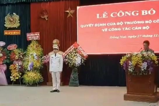 Đại tá Vũ Hồng Văn làm Giám đốc Công an tỉnh Đồng Nai ảnh 1