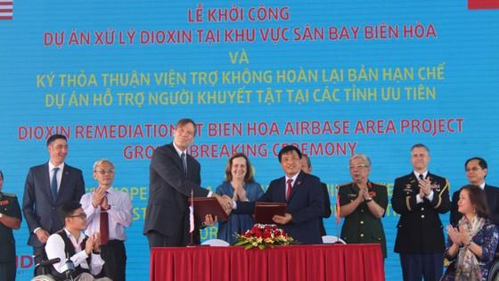Khởi công dự án hơn 390 triệu USD nhằm xử lý chất độc dioxin tại sân bay Biên Hòa  ảnh 4