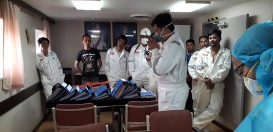 Cảng vụ Hàng hải Đồng Nai tăng cường các biện pháp phòng, chống dịch nCoV ảnh 3