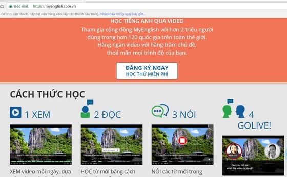 Học tiếng Anh trực tuyến với công nghệ thông minh nhận dạng giọng nói ảnh 1