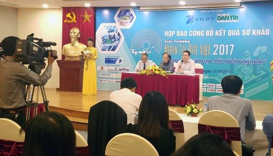 17 sản phẩm CNTT vào chung khảo Nhân tài Đất Việt 2017 ảnh 1