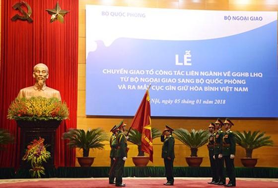 Ra mắt Cục Gìn giữ hòa bình Việt Nam ảnh 2