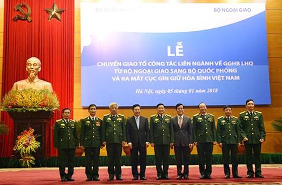 Ra mắt Cục Gìn giữ hòa bình Việt Nam ảnh 1