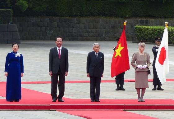 Lễ đón chính thức Chủ tịch nước Trần Đại Quang tại Hoàng cung Nhật Bản ảnh 3