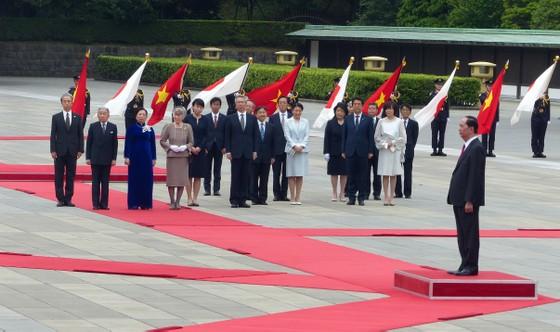 Lễ đón chính thức Chủ tịch nước Trần Đại Quang tại Hoàng cung Nhật Bản ảnh 4