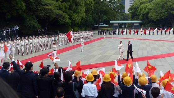 Lễ đón chính thức Chủ tịch nước Trần Đại Quang tại Hoàng cung Nhật Bản ảnh 5