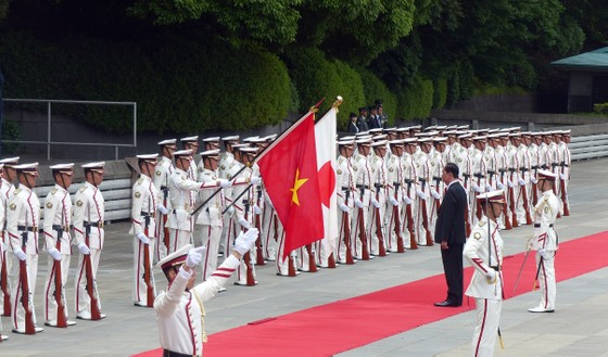 Lễ đón chính thức Chủ tịch nước Trần Đại Quang tại Hoàng cung Nhật Bản ảnh 6