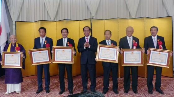 Nhà vua Nhật Bản và Hoàng hậu tham dự tiệc chiêu đãi của Việt Nam ảnh 4