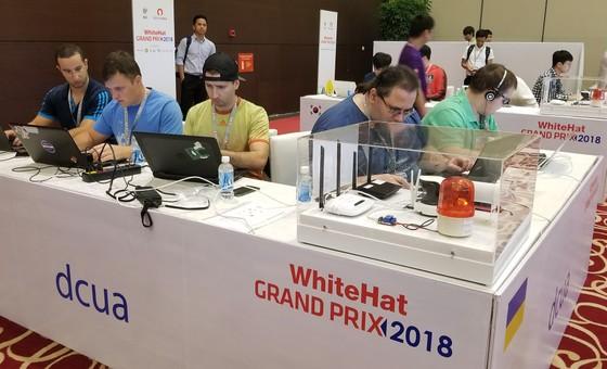 Đang diễn ra cuộc thi An toàn không gian mạng toàn cầu ở Hà Nội ảnh 3