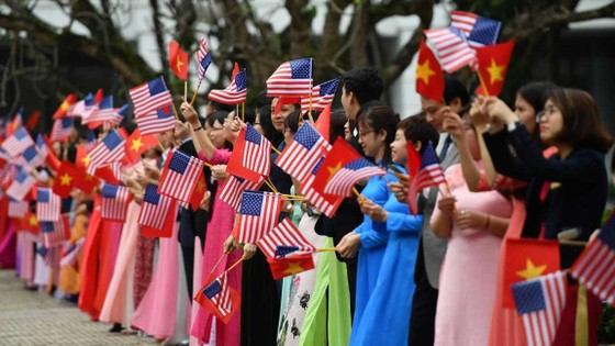 Tổng Bí thư, Chủ tịch nước Nguyễn Phú Trọng tiếp Tổng thống Donald Trump ảnh 6