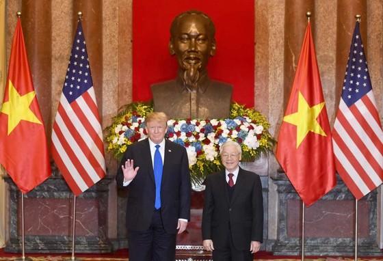 Tổng Bí thư, Chủ tịch nước Nguyễn Phú Trọng tiếp Tổng thống Donald Trump ảnh 2