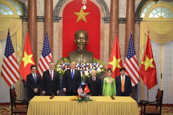 Tổng Bí thư, Chủ tịch nước Nguyễn Phú Trọng tiếp Tổng thống Donald Trump ảnh 8