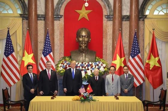 Tổng Bí thư, Chủ tịch nước Nguyễn Phú Trọng tiếp Tổng thống Donald Trump ảnh 10