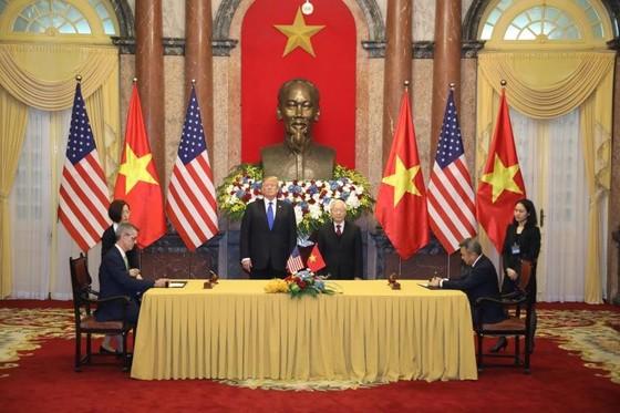 Tổng Bí thư, Chủ tịch nước Nguyễn Phú Trọng tiếp Tổng thống Donald Trump ảnh 11