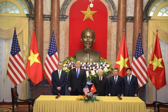 Tổng Bí thư, Chủ tịch nước Nguyễn Phú Trọng tiếp Tổng thống Donald Trump ảnh 12