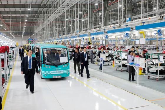 Đoàn cấp cao Triều Tiên tham quan nhà máy sản xuất ô tô của Vingroup  ảnh 6