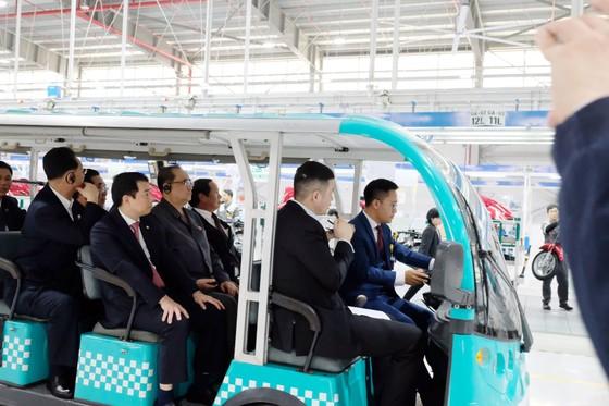 Đoàn cấp cao Triều Tiên tham quan nhà máy sản xuất ô tô của Vingroup  ảnh 5