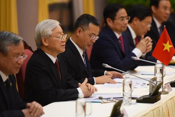 Lễ đón chính thức Chủ tịch Triều Tiên Kim Jong-un ảnh 11