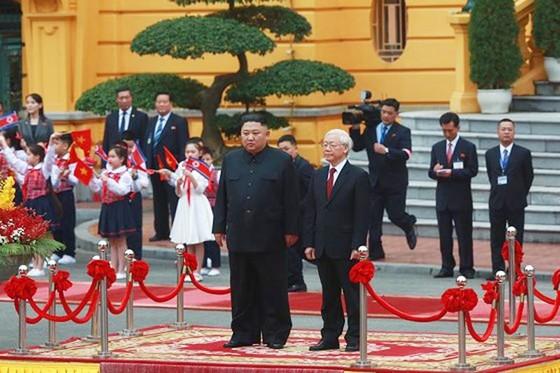 Lễ đón chính thức Chủ tịch Triều Tiên Kim Jong-un ảnh 2