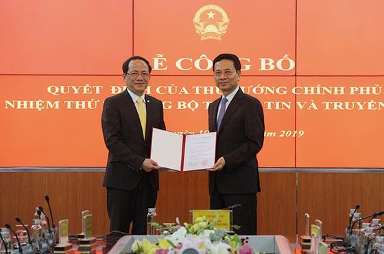 Công bố tân Thứ trưởng Bộ Thông tin và Truyền thông ảnh 1