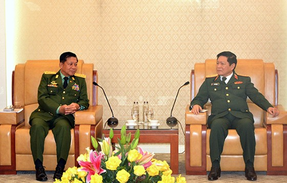 Tổng Tư lệnh các Lực lượng vũ trang Myanmar thăm chính thức Việt Nam ảnh 2