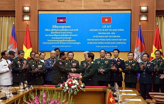 Khẳng định sự gắn bó và hợp tác toàn diện giữa ba nước Việt Nam - Lào - Campuchia ảnh 8
