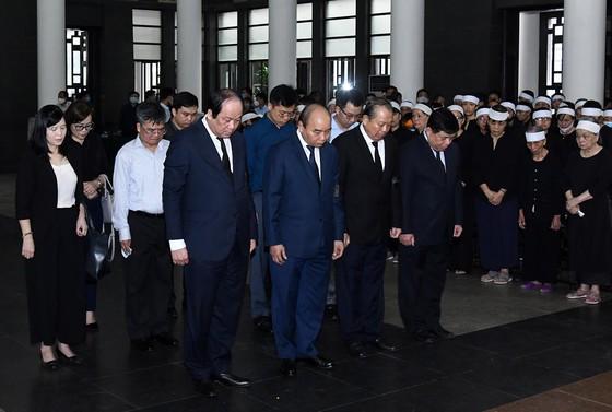 Cử hành trọng thể lễ tang nguyên Phó trưởng Ban Tổ chức Trung ương Nguyễn Đình Hương ảnh 2