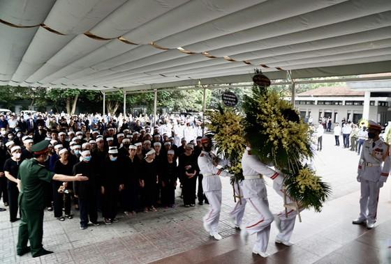Cử hành trọng thể lễ tang nguyên Phó trưởng Ban Tổ chức Trung ương Nguyễn Đình Hương ảnh 7