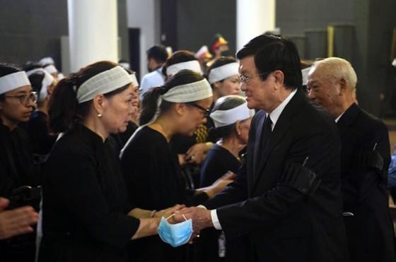 Cử hành trọng thể lễ tang nguyên Phó trưởng Ban Tổ chức Trung ương Nguyễn Đình Hương ảnh 4