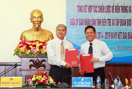 Bến Tre tiếp tục lựa chọn VNPT để hoàn thiện chính quyền điện tử, hướng tới chính quyền số ảnh 2