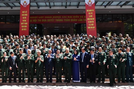 Thể hiện tinh thần xung kích, sức mạnh và khả năng chiến đấu của quân đội Việt Nam trong thời kỳ mới ảnh 8