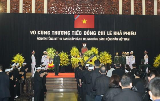 Cử hành trọng thể Quốc tang nguyên Tổng Bí thư Lê Khả Phiêu ảnh 31