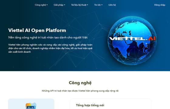 Ra mắt nền tảng công nghệ trí tuệ nhân tạo Viettel ảnh 2