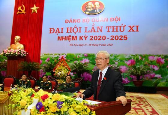 Khai mạc trọng thể Đại hội Đại biểu Đảng bộ Quân đội lần thứ XI, nhiệm kỳ 2020 - 2025 ảnh 3