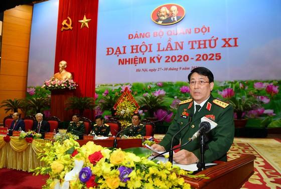 Khai mạc trọng thể Đại hội Đại biểu Đảng bộ Quân đội lần thứ XI, nhiệm kỳ 2020 - 2025 ảnh 7
