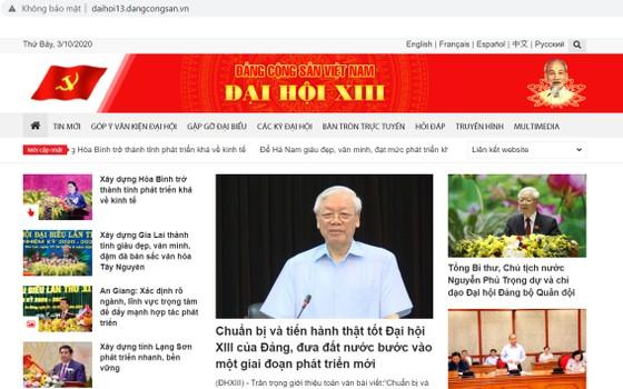 Khai trương Trang tin điện tử Đảng Cộng sản Việt Nam - Đại hội XIII ảnh 2