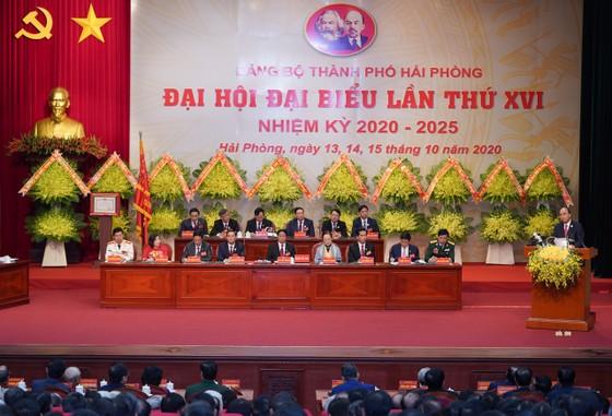 Thủ tướng Nguyễn Xuân Phúc: Hải Phòng phải tập trung phát triển kinh tế biển, trở thành một thành phố cảng quốc tế hiện đại ảnh 2