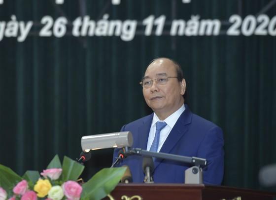 Thủ tướng Nguyễn Xuân Phúc thăm và làm việc tại Học viện Quốc phòng ảnh 3