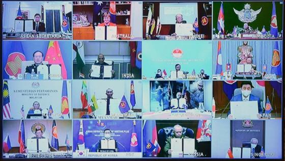 Tuyên bố Tầm nhìn chiến lược an ninh của Bộ trưởng Quốc phòng các nước ASEAN và 8 nước đối tác ảnh 1