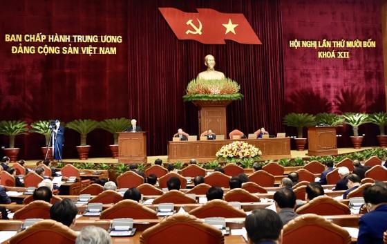 Hội nghị Trung ương 14 tiến hành giới thiệu nhân sự tham gia Bộ Chính trị, Ban Bí thư khóa mới ảnh 1