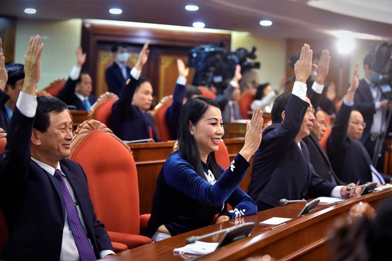 Bế mạc Hội nghị Trung ương lần thứ 14: Thống nhất cao về nhân sự tham gia Bộ Chính trị, Ban Bí thư khoá XIII ảnh 4