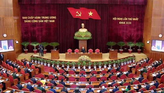 Đồng chí Nguyễn Phú Trọng được tín nhiệm bầu làm Tổng Bí thư Ban Chấp hành Trung ương Đảng khóa XIII ảnh 2