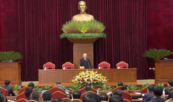 Đồng chí Nguyễn Phú Trọng được tín nhiệm bầu làm Tổng Bí thư Ban Chấp hành Trung ương Đảng khóa XIII ảnh 3
