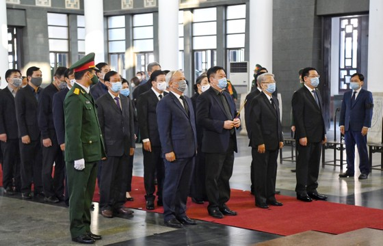 Lễ viếng nguyên Phó Thủ tướng Trương Vĩnh Trọng tại Bến Tre và Hà Nội ảnh 11